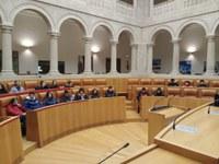 El IES D'Elhuyar visita el Parlamento de La Rioja