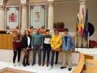 Estudiantes del IES Cosme García conocen el Parlamento