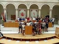 Visita del grupo Folk dance and songs ensemble Gergana de Varna Bulgaria