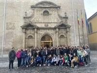 Visita estudiantes del I.E.S. Virgen de Vico de Arnedo y del C.E.O. Villa de Autol