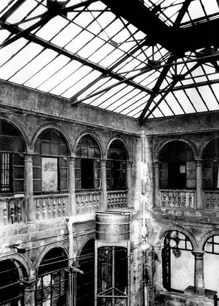 PLR Vista de la antigua fábrica de tabacos