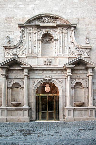 PLR Portada del Parlamento de La Rioja